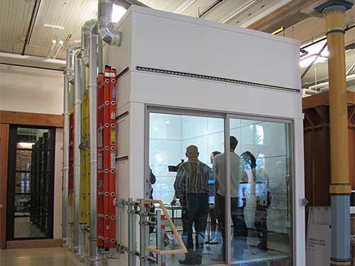 испытательная климатическая камера большого объема
